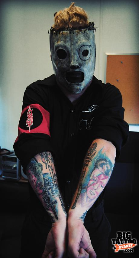 Celebrity Skin Corey Taylor Slipknot Tattoo Big