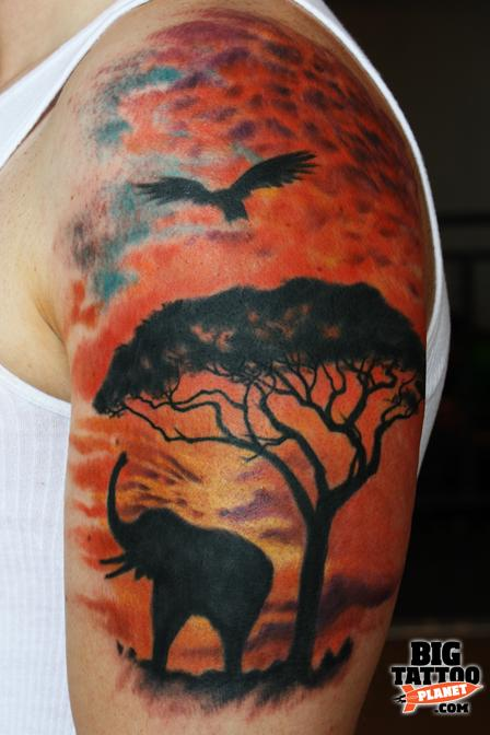 Tim Pangburn Colour Tattoo Big Tattoo Planet