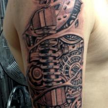 Mike Rogers Tattoo Artist Big Tattoo Planet