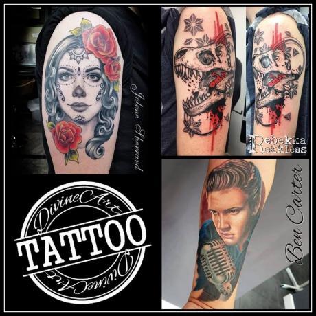 f8d0d016ee005 Divine Art Tattoo Studio Art and Design