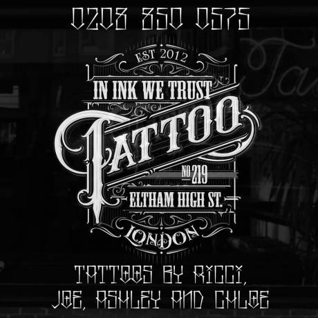 In Ink We Trust Art And Design