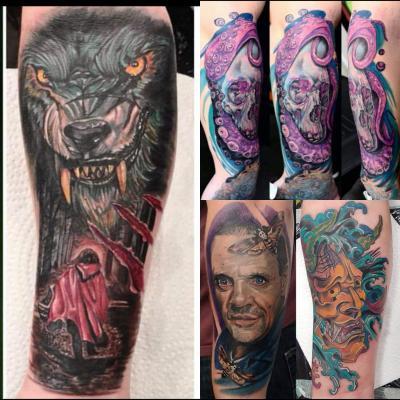 Artists The Great British Tattoo Show