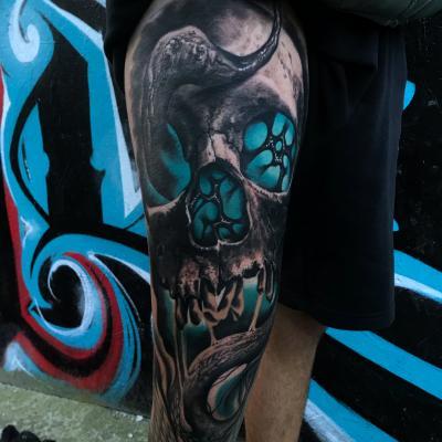Artists Tattoo Freeze