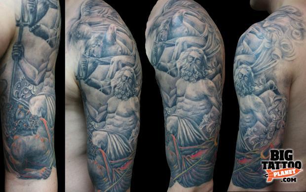 Amanda West Black And Grey Tattoo Big Tattoo Planet
