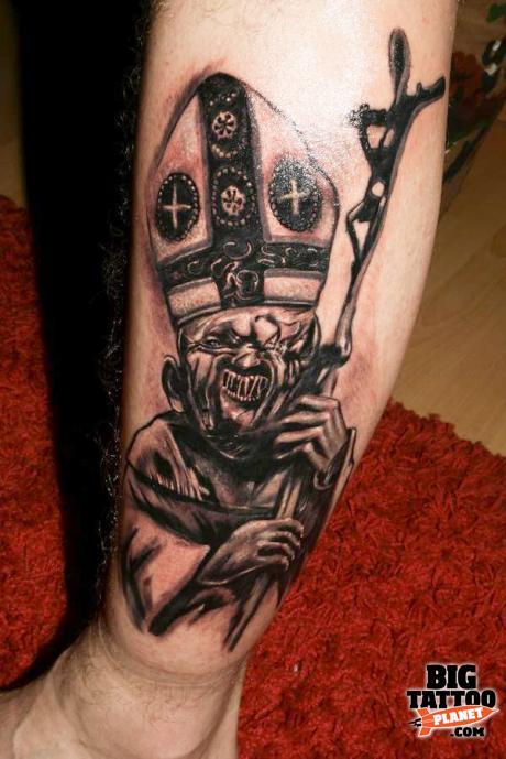 Mariusz Ekstowicz Tattooman Black And Grey Tattoo