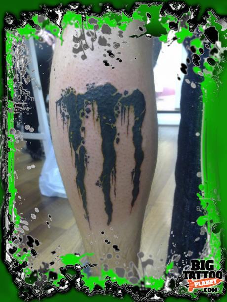 Ricky Abstract Tattoo Big Tattoo Planet