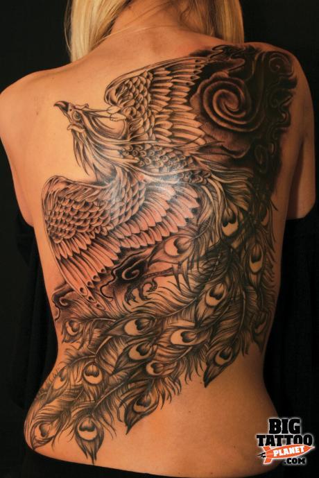 ruby arts black and grey tattoo big tattoo planet