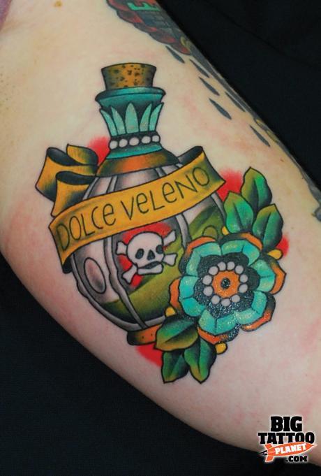 Miss arianna colour tattoo big tattoo planet for Tattoo cork ink